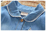 661bf3763ee6 BibiCola 0-2 years old baby girl summer hot sale fashion girl jeans dress  casual