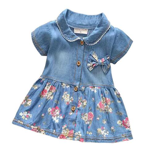 c54e48b863bb BibiCola 0-2 years old baby girl summer hot sale fashion girl jeans dr