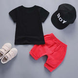 BibiCola 2018 baby boys clothing sets summer 2pcs T-shirt+pants bebe clothes outfits infant toddler boys tracksuit active style - thefashionique