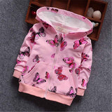 BibiCola Spring baby girls coat jacket children Autumn outerwear coat baby Cardigan coat kids girl hoodies jacket toddle clothes - thefashionique