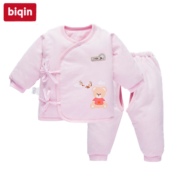 Biqin NB-3T newbaby baby children kids clothing  boys girls  Spring Autunm rompers Baby  Warm  Long Suit  Long  Coat WL-5468 - thefashionique