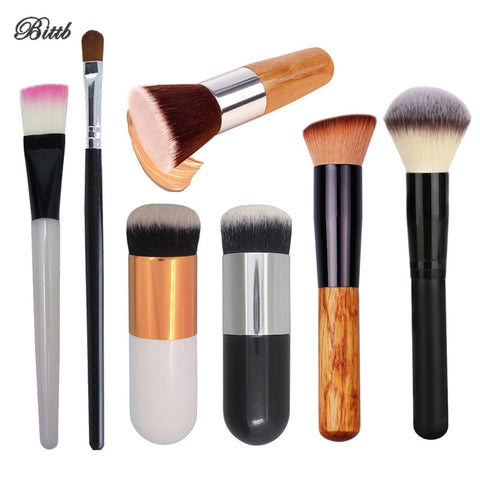 Bittb Professional Makeup Brushes Tools Concealer Foundation Powder Make Up Brush Eye Face Cosmetic Blush Beauty Essentials