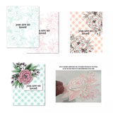 Blooming flowers Metal Cutting Dies and stamps Talk box Stencils for DIY Scrapbook Photo Album Paper Card Decorative - thefashionique