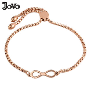 Bohemian Style Infinity Bracelets & Bangles Chain Link Bracelet Femme Adjustable Charms Bangles Friendship Girls Women Jewelry - thefashionique