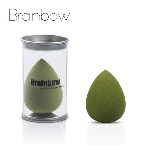 Brainbow Newest 1piece Soft Makeup Foundation Sponge Cosmetic Puff Powder Smooth Beauty Makeup Sponge Face Beauty Essential Tool