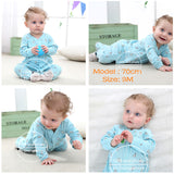 Brand 2018 fashion baby pajamas & sleepwear baby clothing baby boys clothes for girls rompers 100% cotton baby rompers newborn - thefashionique