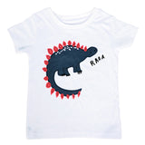 Brand Kids 18M-6Y Baby Boys Girls T-Shirt New Summer Short Sleeve Tees Children's Tops Clothing Cotton Cartoon Pattern Tshirt - thefashionique