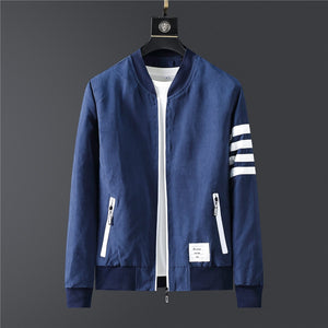 Brand Men Jacket New Autumn Jackets For Man Clothing Hooded Sweatshirt Long