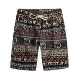 Brother Wang Brand 2018 Summer New Men's Bermuda Shorts Fashion Casual Loose Straight Floral Pattern Beach Shorts Male 5135 - thefashionique