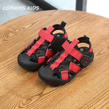 CCTWINS Kids Shoes 2019 Summer Babys Boys Casual Sport Shoe Children Pu Leather Flat Girls Brand Beach Sandals BS121 - thefashionique