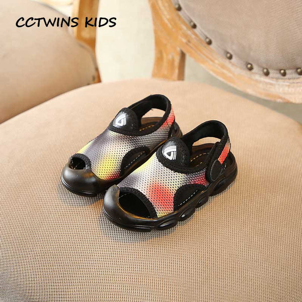 CCTWINS Kids Shoes 2019 Summer Babys Fashion Breathables Shoes Children Casal Beach Sandals Boys Brand Flat Girls BS162 - thefashionique