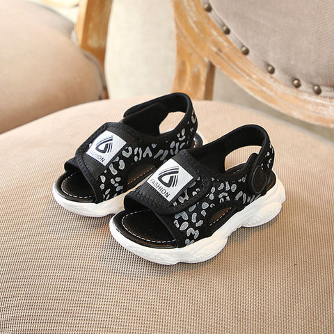 CCTWINS Kids Shoes 2019 Summer Fashion Girls Black Beach Sandals Boys Barefoot Casual Flats Children Baby Brand Soft Shoes BS237