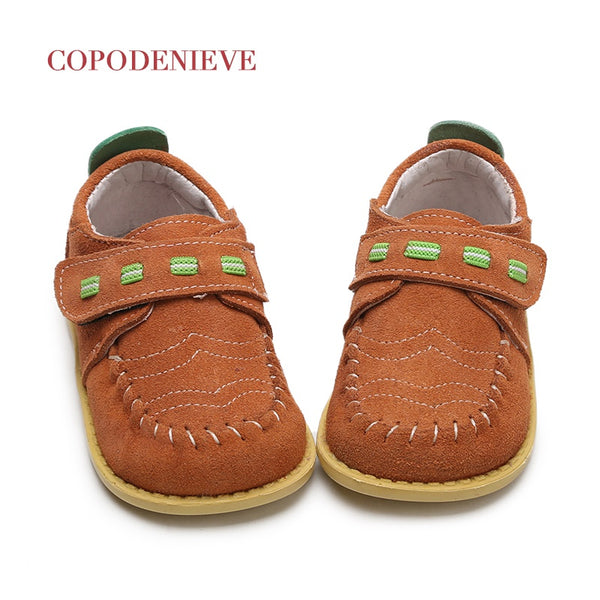 COPODENIEVE Children shoes spring autumn Toddler Little Boys loafers shoes kids Slip-on leather kids casual shoesThe girl - thefashionique