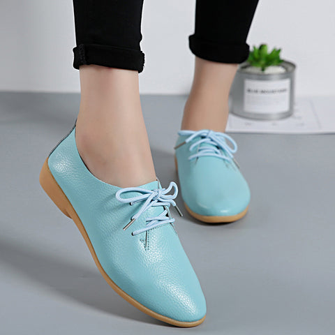 CPI Genuine Leather Summer Loafers Women Casual Shoes Moccasins Soft Pointed  Toe Ladies Footwear Women Flats a2f5ec20f1b4