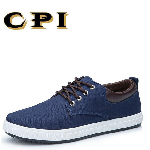 CPI New arrival of spring summer comfortable casual shoes canvas shoes men men's  lace up the fashion brand Flats shoe CC-22 - thefashionique