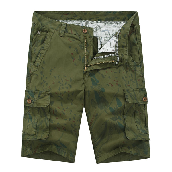 Camouflage Cargo Shorts men Cotton Casual high quality Short Pants male Summer harajuku Clothes Comfortable Camo man shorts 2019
