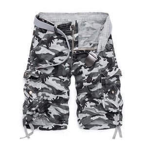 Camouflage Loose Cargo Shorts Men Cool Camo Summer Short Pants Hot Sale Homme Cargo Shorts Plus Size Brand Clothing - thefashionique