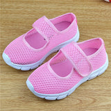 Candy Color Kids Shoes Summer Breathable Mesh Children Shoes Single Net Cloth Sports Sneakers Boys Shoes Girls Shoes CSH226 - thefashionique