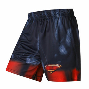 Captain America/Superman /Hulk 3D Print Men Shorts Plus Size Breathable Loose Homme Fitness Shorts  Sporting Beaching Trousers - thefashionique