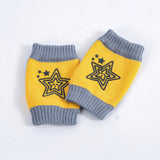 Cartoon Baby Safety Crawling Elbow Cushion Toddlers Knee Pads Protective Gear Toddlers Warm Socks - thefashionique