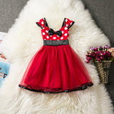 Cartoon Sleeveless Baby Dress Kids First Christmas Baby Dresses Girls Autumn tutu Gown Winter Clothing vestidos bebes infantil - thefashionique
