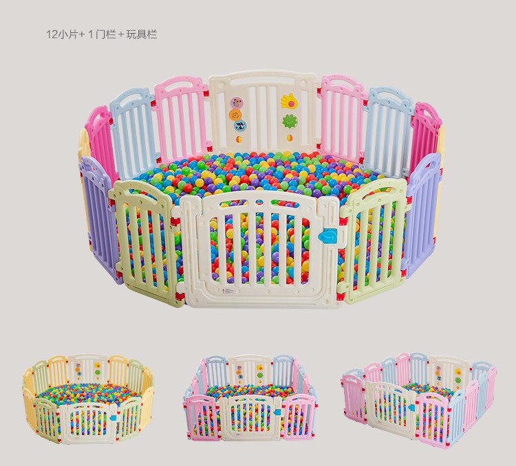 Children Kids Place Fence Kids Activity Gear Environmental Protection Game Fence Baby Playpens - thefashionique