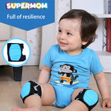 Children Protection Baby Safety Crawling Knee Pads Walk Training Protector Baby Proof Infant Legs Warm Knee Pad Protective Gear - thefashionique