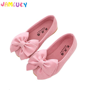 Children Shoes Girls Summer Big Bow Candy Colors Shoes Kids Flat Shoes Slip-On Girls Cute Sandals Kids Shoes For Girl Princess - thefashionique