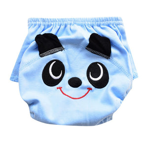 Children's swimming trunks Toddler Infant Baby Girl Cute Cartoon Swim Diapers Nappy Swimming Lesson Clothes  #4M10