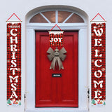 Christmas Banner Soldier Curtain Hanging Flag Christmas Decoration for Home Door Outdoor Christmas Ornaments New Year Decor 2020