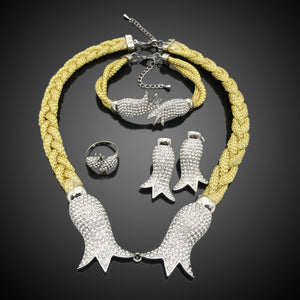 Christmas gift Special Rope  jewelry sets & more for party wedding accessories FHK2952 - thefashionique