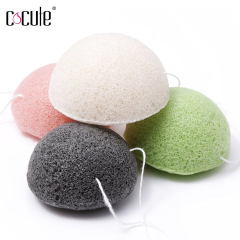 Cocute Konjac Sponge Beauty Essentials 100% Natural eponge Konjac Puff Facial Pore Cleaner Washing Sponge Face Skin Care Tools