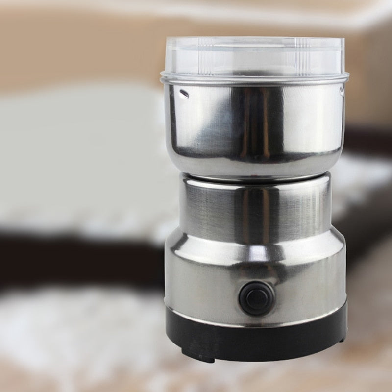 Coffee Grinder Stainless Electric Herbs/Spices/Nuts/Grains/Coffee Bean Grinding - thefashionique