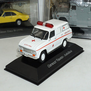 Collection Boutique 1/43 Scale Miniature CHEVROLET VERANEIO Ambulance Display Model Alloy Die-cast Vintage Car Birthday Gift