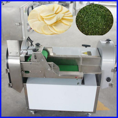 Commercial 1 ~ 60mm adjustable vegetable fruits cutting slicer maker machine - thefashionique