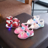 Cool LED lighting New brand fashion children sandals hot fashion kids shoes sneakers excellent summer boys girls sandal - thefashionique