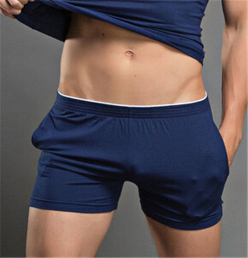 Cotton Men Boxer Shorts Men's Underwear Classic Underpants Men Undergarment Soft and Comfortable - thefashionique