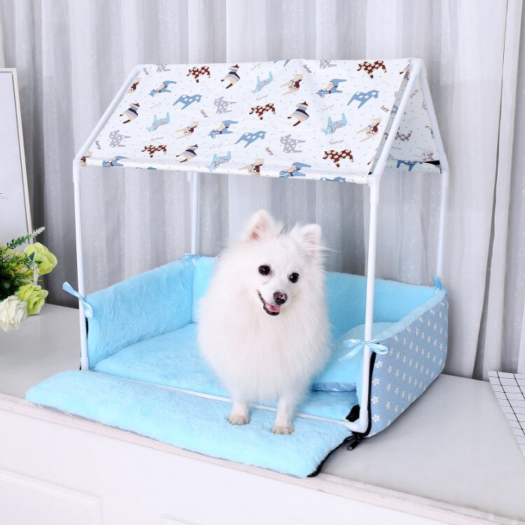 Creative Pet Cushion Tent Dog&Cat Nest Removable Pet House Pet Puppy Supplies Dog Beds For Large Dogs Breathable INS Cushion