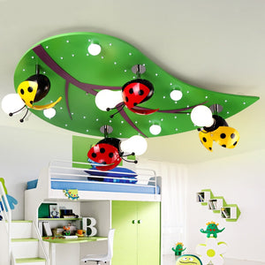 Creative cartoon children's room led ceiling lamp cozy the room boy girl modern bedroom Ceiling light