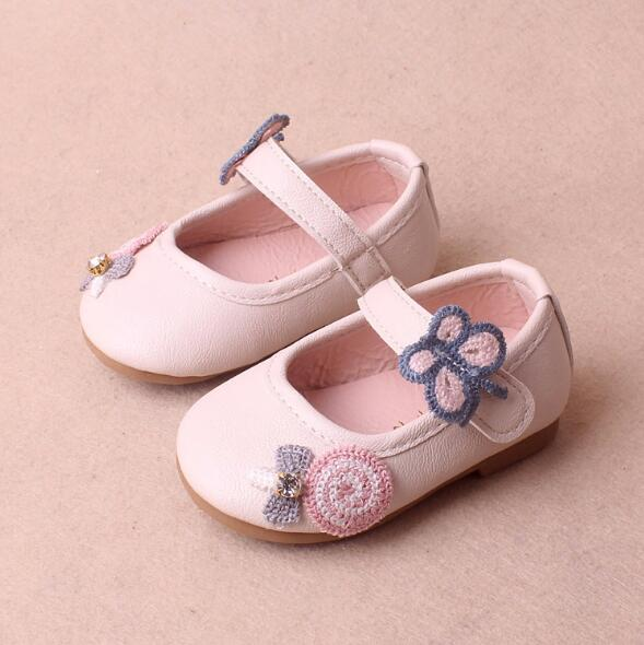 Mother & Kids 2018 Spring Autumn Girls Princess Toddler Shoes First Walkers Lovely Flower Shoes For Fast Shipping