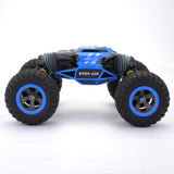Cymye RC Car 4WD Double-sided 2.4GHz One Key Transformation All-terrain Vehicle Varanid Climbing Car Remote Control Truck