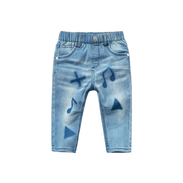 DB9934 dave bella spring baby boys jeans children full length clothes kids pants infant toddler trousers - thefashionique
