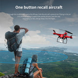 DM006 Six-axis Fixed Four-axis Aircraft  RC Drone 6-Axis Remote Control Helicopter Quadcopter With 2MP HD Camera Or X5 R - thefashionique