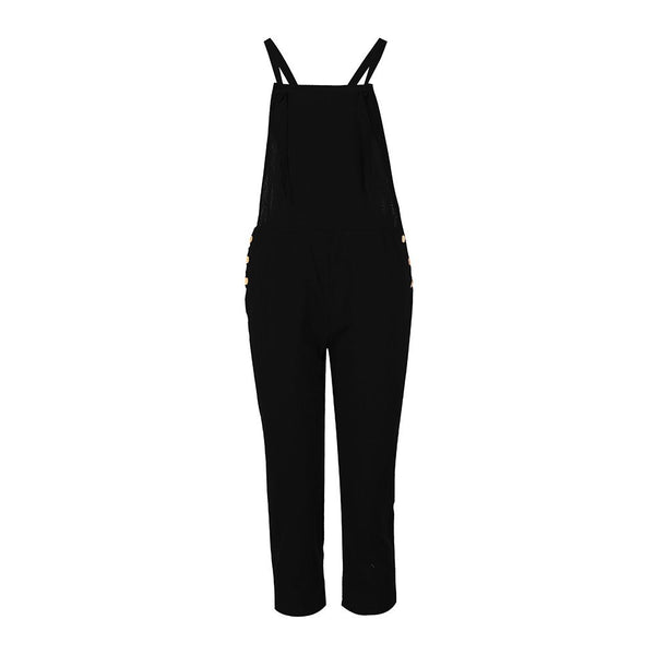 DROPSHIP 2018 New Arrival Fashion Women Spaghetti Strap Wide Legs Bodycon Jumpsuit Trousers Clubwear Rompers Hot Summer #J05 - thefashionique