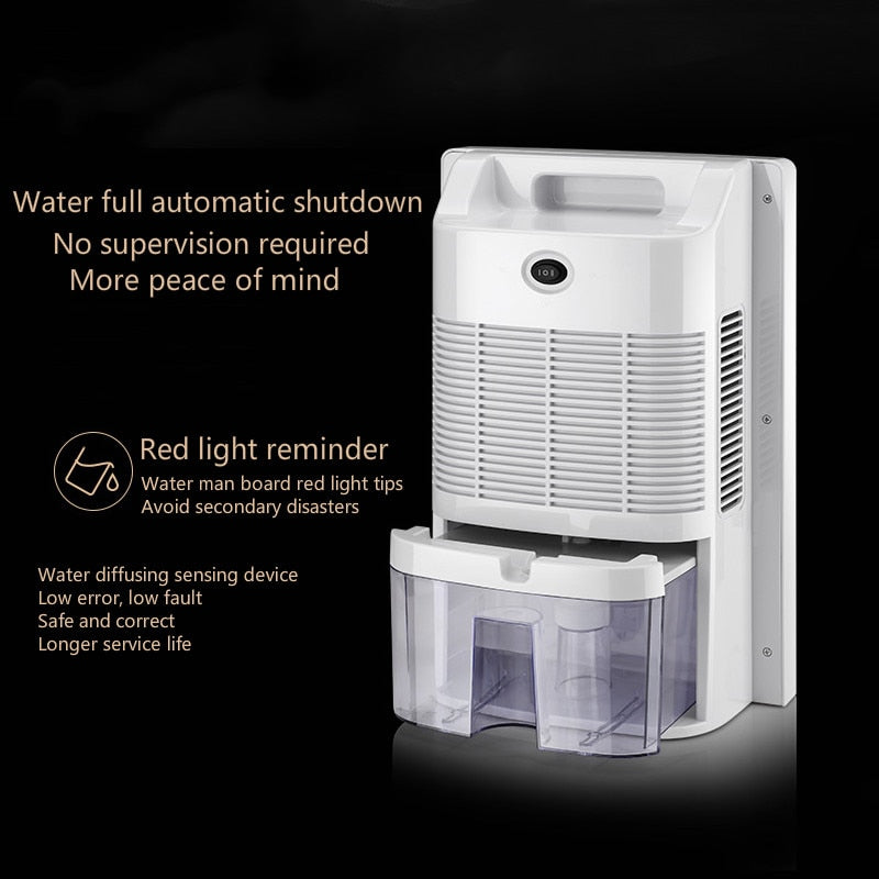 Dehumidifier Moisture Absorber Indoor Dehumidifier Basement Moisture Absorber Mute Remote Control Timing External Water Pipe