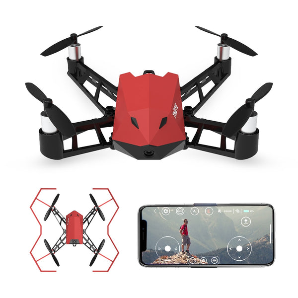 DrX 1080P 8MP Drone with Camera Wifi FPV Altitude Hold Optical Flow Positioning App Control Selfie RC Quadcopter for Kids - thefashionique