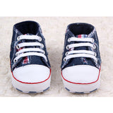 DreamShining Baby Shoes Canvas Star Infant Newborn Toddler Shoes Spring Autumn Children Footwear First Walkers Baby Boy Sneakers - thefashionique