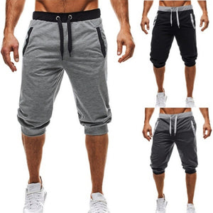 EINAUDI New men's shorts compression Fast drying fashion Joggers sweatpants gyms Bodybuilding short pants men Sweatpants - thefashionique