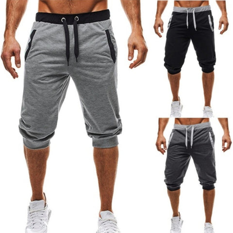 EINAUDI New men's shorts compression Fast drying fashion Joggers sweatpants gyms Bodybuilding short pants men Sweatpants