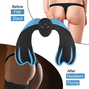 EMS Hip Trainer Electric Muscle Vibrating Anti Cellulite Home Fitness Workout Massage Pad body Relax massager Health Care - thefashionique